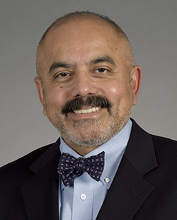 Headshot portrait of Dr. Jorge Reyes, surgery, transplantation.