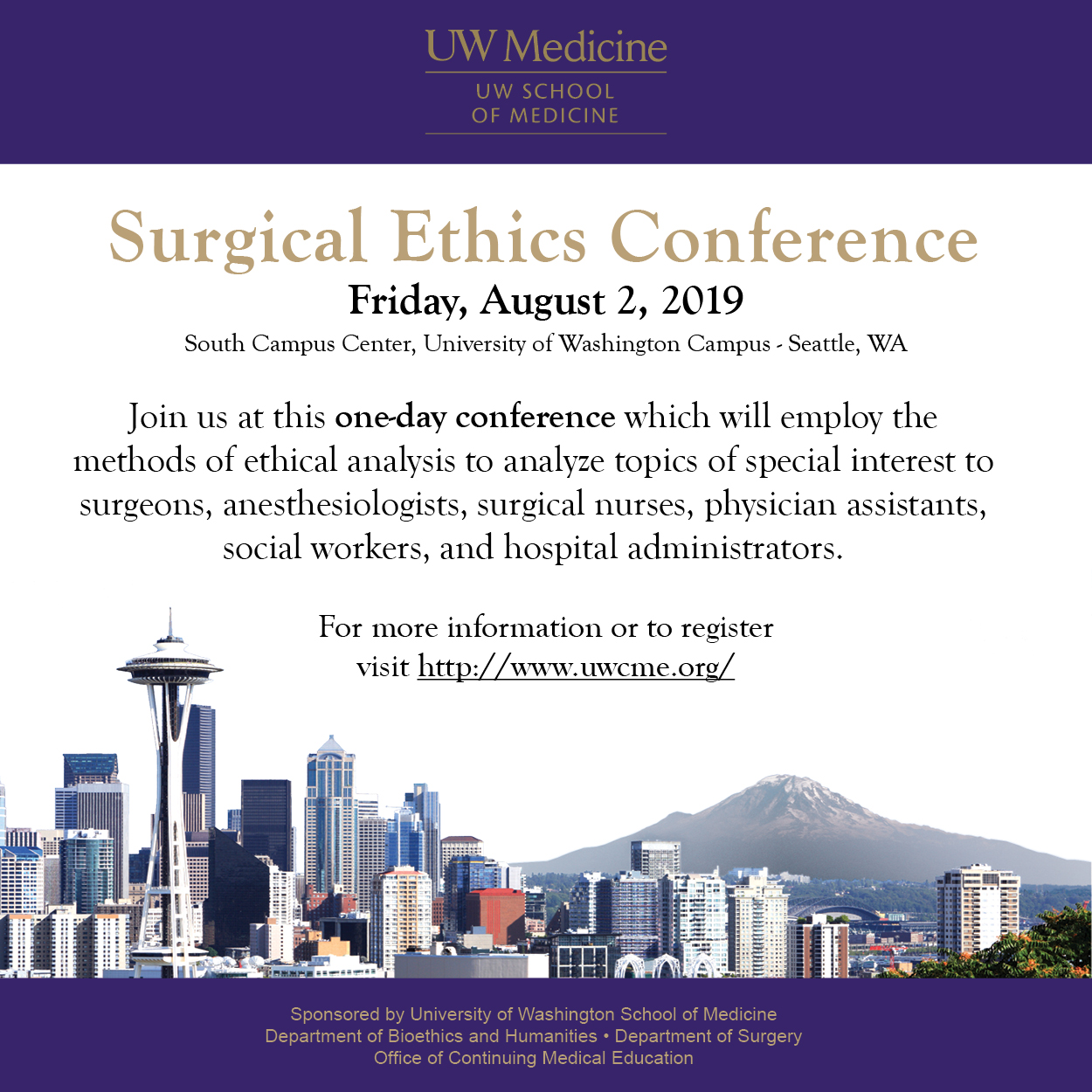 2019 Surgical Ethics Conf
