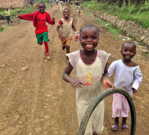 photo of children in global health research regions