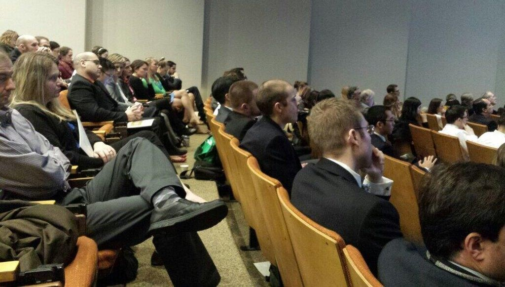 surgical conference audience