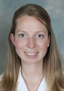 Headshot portrait of Anne Chapin, physician assistant, plastic and reconstructive surgery.