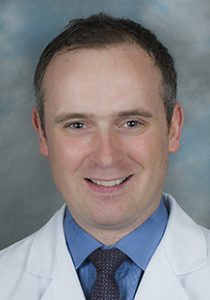 Headshot portrait of Dr. Stephen Kennedy, orthopedics and sports medicine.