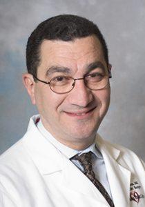 Studio portrait of Dr. Gabriel Aldea, cardiovascular surgery, vascular surgery.