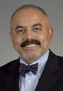 Headshot portrait of Dr. Jorge Reyes, surgery, transplantation.